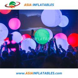 Inflables inflables de interior en forma de globo de iluminación LED