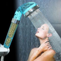 Nettoyage de l'eau de la tête de douche avec pomme de douche de Poche amovible de filtre à eau
