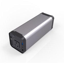 Banco de potencia de salida de CA portátil mini cargador de batería de UPS con coche de saltar el motor de arranque