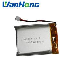 Batterie au lithium polymère 803040PL 1000mAh Batterie au lithium 3,7 V Pack batterie lithium-ion pour les jouets produits numériques