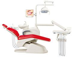 كرسي جلادنت الاقتصادي للأسنان مع سبيتوون الحقن الدوار