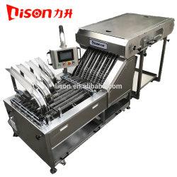 Cuatro carriles privilegio automático de las galletas secas decisiones contando con el borde de la máquina envasadora