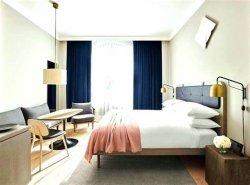 Новая классика деревянной мебелью с одной спальней отель из натуральной кожи гостеприимство мебель поставщиков