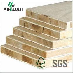 Revestimento de melamina da Placa do Bloco do Núcleo de pinheiros de mobiliário
