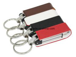 Cuir pilote de plume de mémoire flash USB