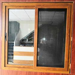 PVC-Türen Fenster Holz Farbe Finish PVC Schiebefenster