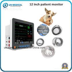 UN-15A medizinischer Multi-Parameter-Patientenmonitor für veterinärmedizinische Vet