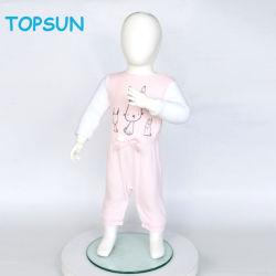 No Outono de mola infantil personalizado recém-nascido Jumpsuit Outsfits veludo macio bebé romper