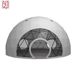 PVC d'acciaio della tenda della cupola della grande del partito di evento tenda insonorizzata della cupola geodetica