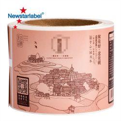 Бумаги Fasson тепловой рулонов бумаги, самоклеющиеся этикетки Этикетки штрих-кодов