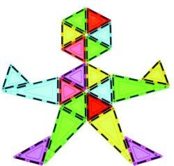 Magnetische anschließenblock-Spielwaren für die Kinder, die Fantasie-Kreativität und logische Fähigkeit erhöhen
