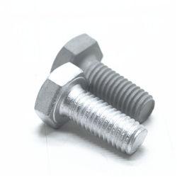 Galvanizado de acero al carbono Gr4.8 toca el tornillo hex.