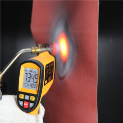 De vuurvaste Materiële Met een laag bedekte Stof van het Silicone Rubber