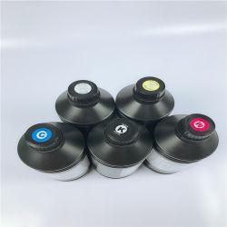UV acrílico de color blanco de tinta de impresora de tinta UV para el plano de la máquina impresora UV