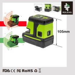 Auto automatico che livella riga trasversale laser a livello