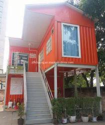 حاوية ذات طوابق مزدوجة خارجية منزل منزل منزل منزل منزل منزل مع وحدات السلم