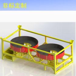 Pallet standard/personalizzato del pallet d'acciaio del metallo di vendite della fabbrica
