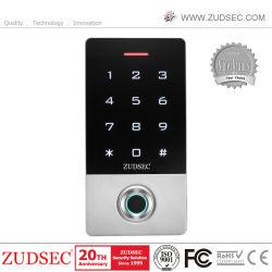最高位のスタンドアロン接触キーパッドの顔の認識防水の生物測定RFIDの指紋のドアのアクセス制御