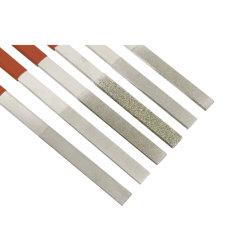 ملف المنشار الماسي 6pcs/ملف مسطح عالي الكربون من الفولاذ/الطحن