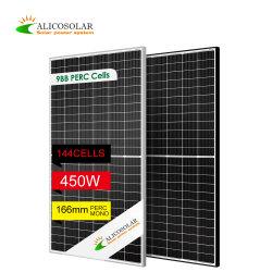 2747 أعلى الفئة 6bb 9bb 144 خلايا لوحه بالطاقة الشمسية 450 واط 430 واط 435 واط 440 واط PV الطاقة الشمسية أحادية اللون خلية