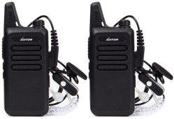 Mini Walkie Talkie Lt-316 Auricular con batería recargable de 3 vatios para acampar Senderismo jugando golf
