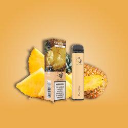غونبود 1250mAh 2000 بيع الساخنة مأطحة 20 نكهة يمكن التخلص منها E-Cigarette [فبي] قلم [فبوريزر] سعر جملة