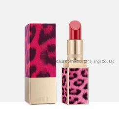 OEM Schoonheidsmiddelen van de Lippenstift van de Korrel van de Luipaard van de Make-up van de Luxe van de Schoonheid van de Manier de Waterdichte