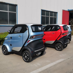 Cee L6e aprobación Caja de seguridad Mini Electric Auto para adultos