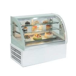 900mm porte en verre Chiller boulangerie vitrine à gâteaux du cabinet d'affichage