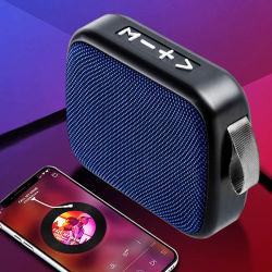 سماعات محمولة لاسلكية 10 سنوات مصنّع الأجهزة الأصلية (OEM) ملحقات الهواتف المحمولة السيارة ميني الصبووفر DJ الأمازون أعلى الصبووفر صندوق الصوت