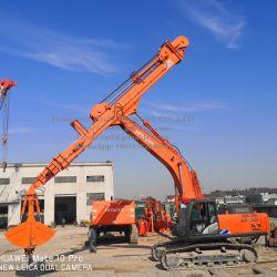 Aprovado pela UE 25m de profundidade de escavação Extensão Longa/Braço Telescópico/Stick para a Hitachi ZX360 Escavadoras