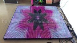 Закаленное стекло Напольный светодиодный экран P12.5мм видео танцевальном зале
