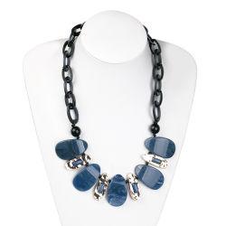Neue Mode Acryl Harz Schmuck Halskette Damen Neueste Design