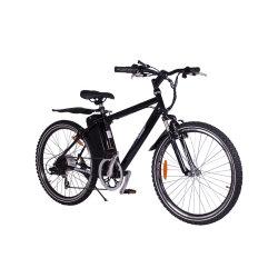 2021 패션 250W 전기 자전거 스틸 프레임 26 및 rdquor, E 자전거