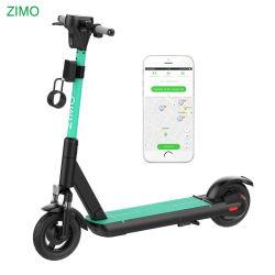 2021 Nouvelle location GPS Dockless APP Xiaomi Ninebot Max d'oiseaux de la fonction Partage de la chaux Scooter électrique avec batterie échangeable