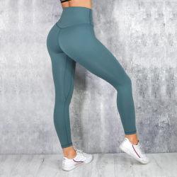 Broek van de Yoga van de Beenkappen van de lage In het groot Vrouwen van de Sportkleding MOQ de Sexy Stevige