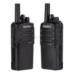 Rede Pública Móvel Inrico Wi-Fi ilimitado Global com telemóveis walkie-talkie