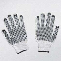 7g het dubbele Kant Gestippelde Koord breit de Katoenen Handschoen van het Werk