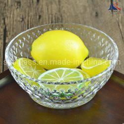 La Verrerie contenant des aliments 5pouce Bol de fruits de verre ancien