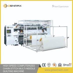 Sistema computadorizado de Cadeia Multi-Needle Quilting Colagem de máquina para máquina de colchão