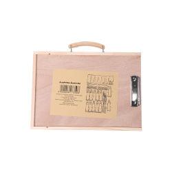 Paquet de bois Non-Toxic aquarelle art défini pour l'artiste