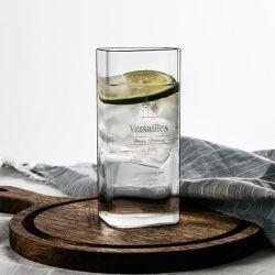 La cuvette de verre carrées/Petit Déjeuner Lait mug/Shot Verre/vin prévue/verre tasse de boisson/Shot Verre/vin prévue/verre tasse de boisson