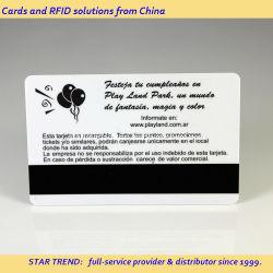 بطاقة هدايا عضوية PVC مع أشرطة مغنطيسية