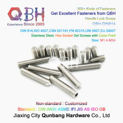 تركيبة مثبت قطع أثاث هيكل السيارة الأصلي (ODM) Qbh DIN914 الأجهزة