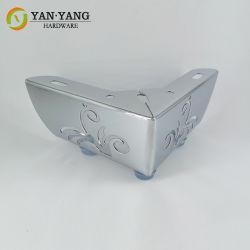 Mobiliário personalizado perna oco de cromo-Metal de Canto Sofá Pernas