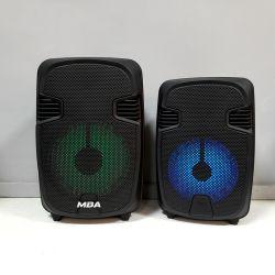 """Nouveau mini portable 6"""" Home Theater Audio sans fil Bluetooth Karaoke Professionnel Microphone Le président"""