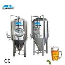 Ace 100-20000 prix d'usine litres de bière conique en acier inoxydable de l'équipement de la bière de fermentation cuve de fermentation de brassage de bière réservoir Fermenteur