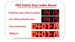 HSE 안전 생산 일 LED 디스플레이 시스템