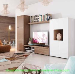 새로운 디자인, 심플한 UV 고광택 TV 벽 캐비닛 Wood TV 캐비닛을 설계합니다