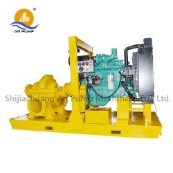 고정되는 전기 시작 고압 디젤 엔진 원심 수도 펌프